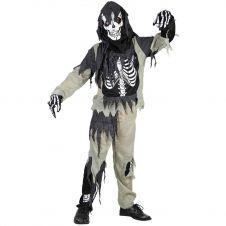Zombie Skeleton Costume