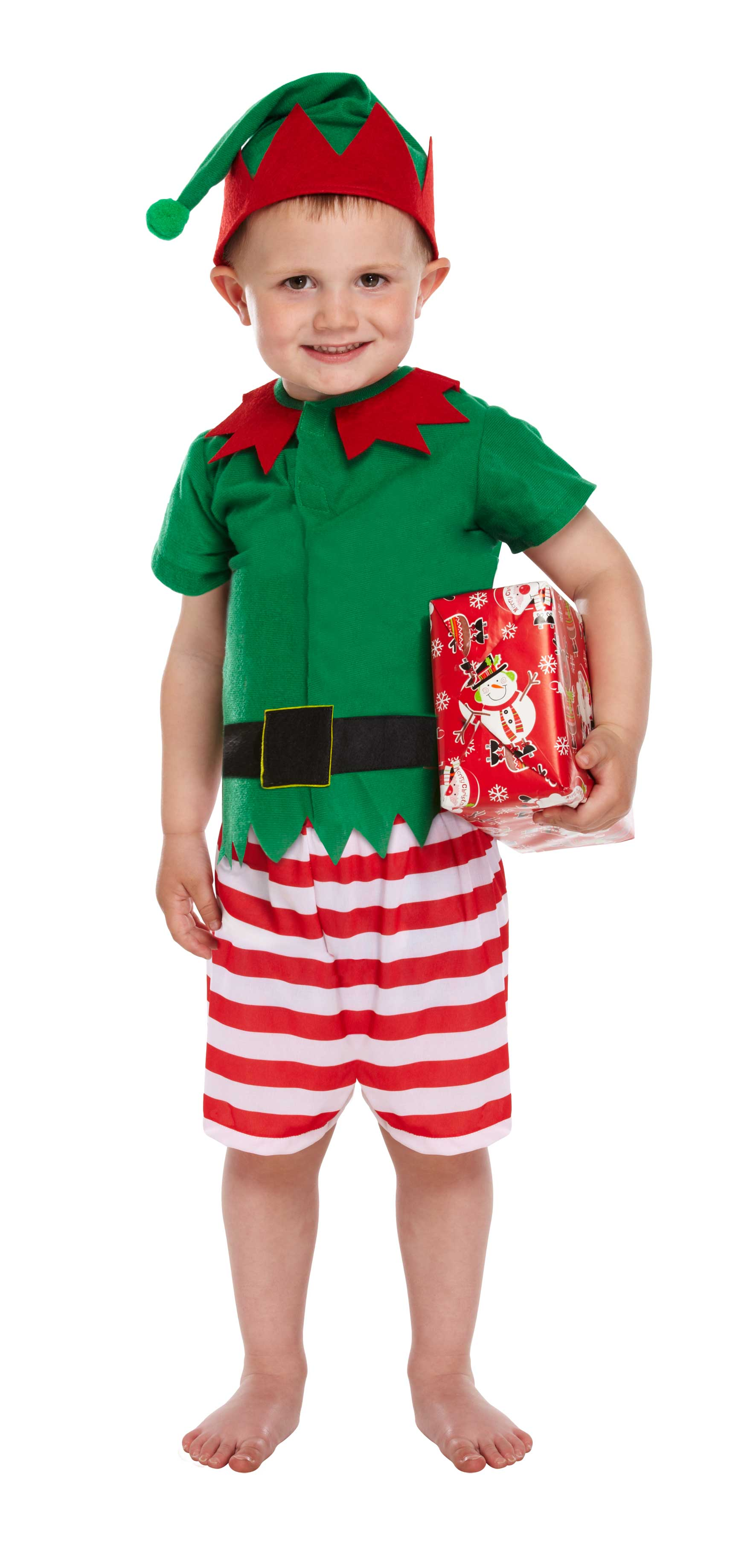 Toddler Santas Little Helper Boy 3 Yrs