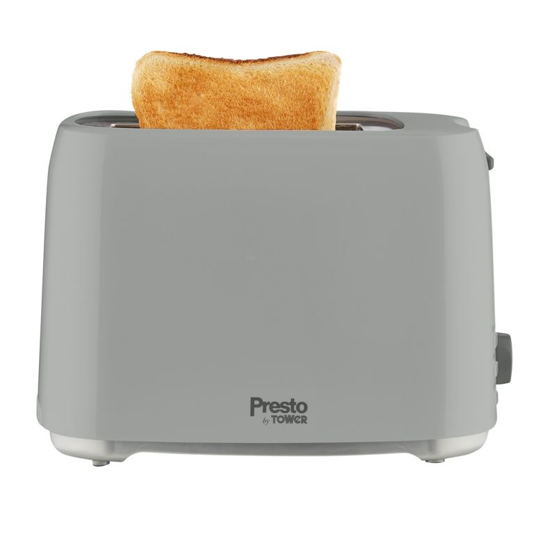 Tower Presto 2 Slice Toaster - Grey