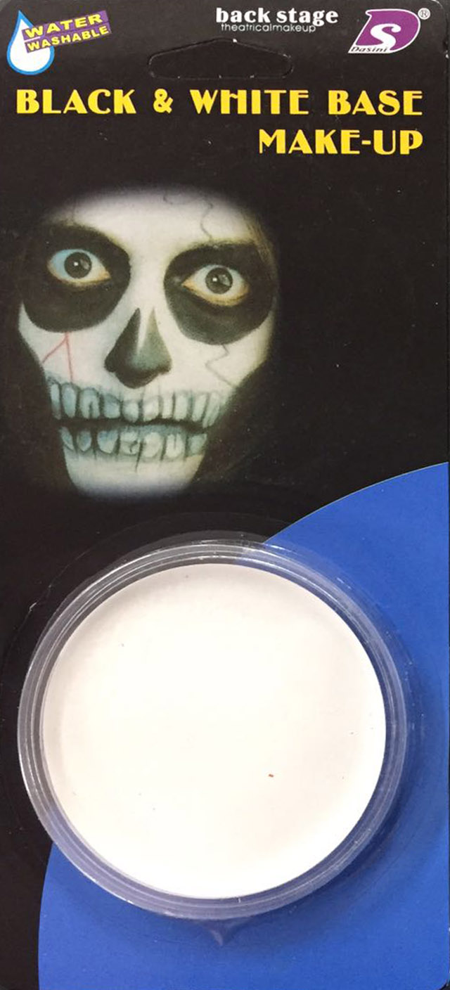 White face Paint Base Makeup