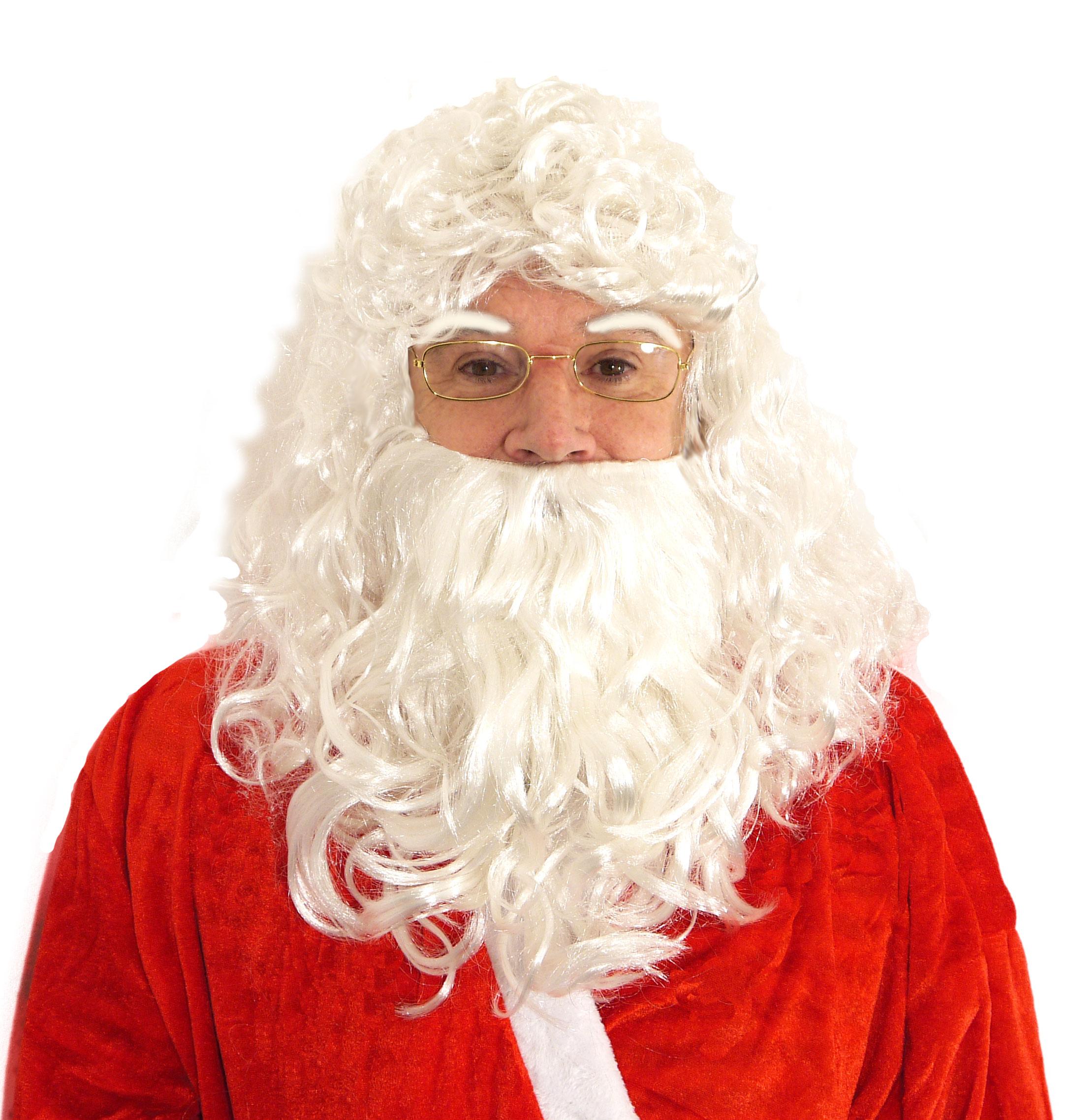 Wig Santa With beard and Eyebrows 190g