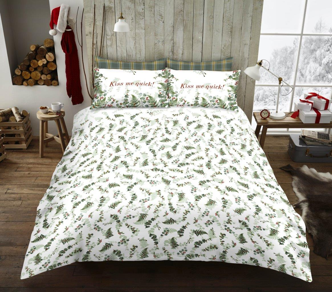 Xmas Honesty Leaf Duvet Sets