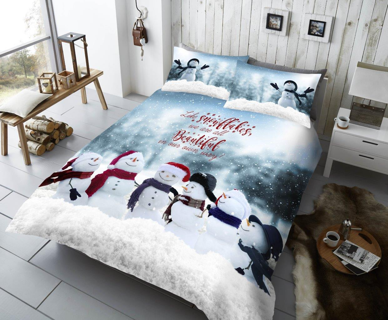 Xmas Snowman Pals Duvet Sets
